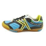 Kelme Star 360 Mens Michelin Leather Mesh Wide Indoor Soccer Shoes